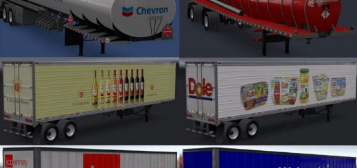 Real Companies & Trailers Pack v 1.0 1