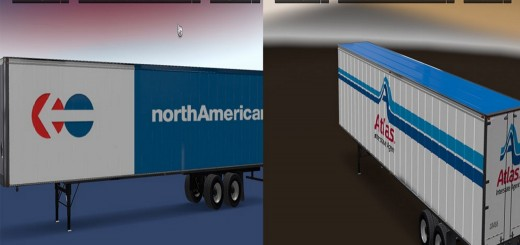 Real Company Trailers Pack v 1.0 2