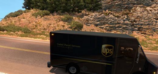 Real UPS Van