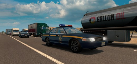 SEPARATE CALIFORNIA AND NEVADA HIGHWAY PATROL CARS2