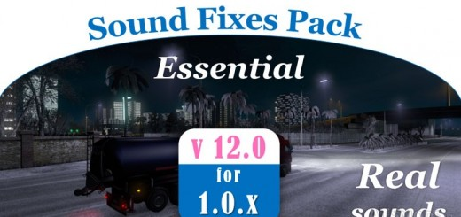 SOUND FIXES PACK V 12.0 3