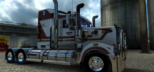 Selman Bros skin for the Kenworth T908 1