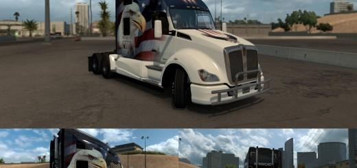 U.S.A. Eagle Truck skin for Kenworth T680 2
