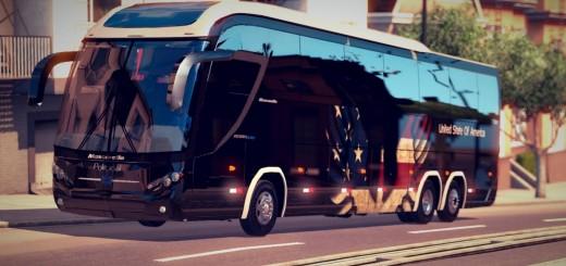 USA SKIN FOR MASCARELLO ROMA BUS