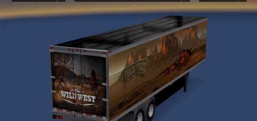 WILDWEST TRAILER SKIN 2