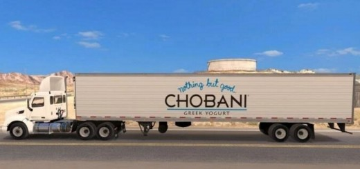 Chobani Yogurt Reefer Trailer