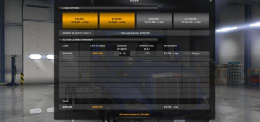 Klaas' Economy Mod v 1.1.9 2