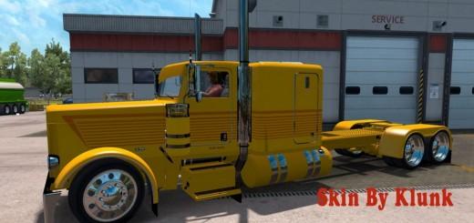 Peterbilt 389 Yellow Skin