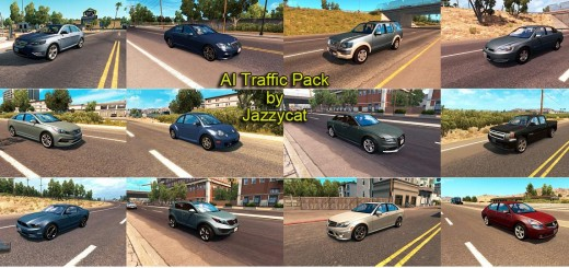 AI TRAFFIC PACK BY JAZZYCAT V1.4 ATS 1