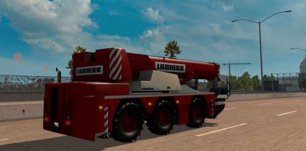 AI Traffic Cranetruck for ATS 1.2.x by Solaris36 1