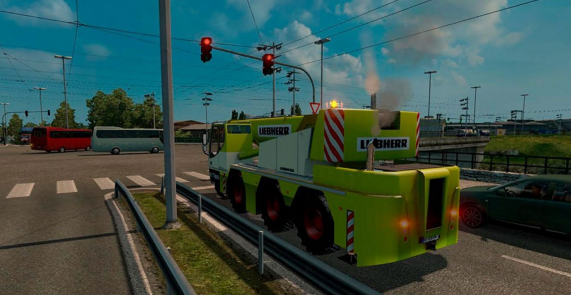 AI Traffic Cranetruck for ATS 1.2.x by Solaris36 2