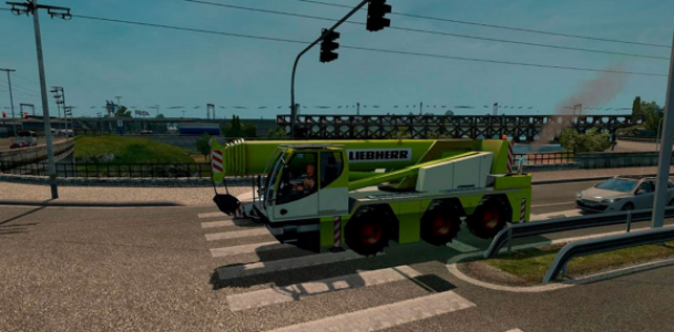 AI Traffic Cranetruck for ATS 1.2.x by Solaris36 3