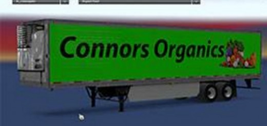 Conors Organics Trailer