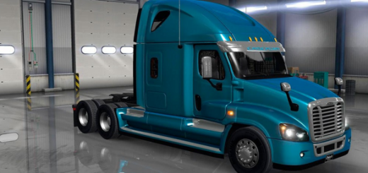 Freightliner Cascadia V 1.1 edited mod (2)