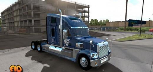 Freightliner Coronado ABCO Transportation Skin 2