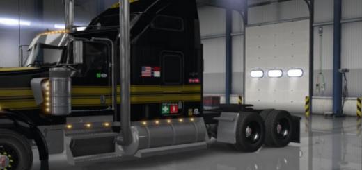 Golden Firebird Truck Skin for Kenworth W900 v 1.01 UPDATE  (1)