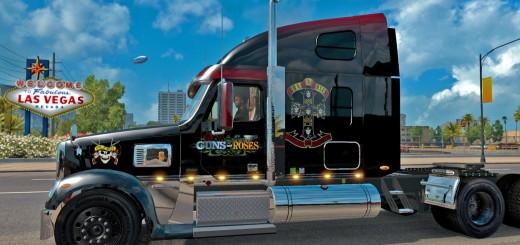 Guns N' Roses Freightliner Coronado skin