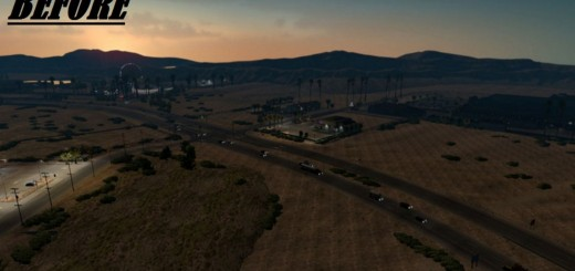 I-Fix 15 Primm v 1.0 – Intersection fix for I-15 Primm for ATS 2