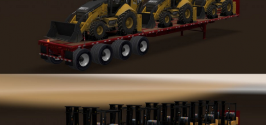 Long Flatbed Machinery Pack v 1.0 1