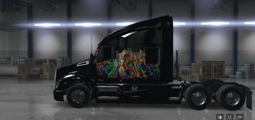 Marvel Hero's Skin