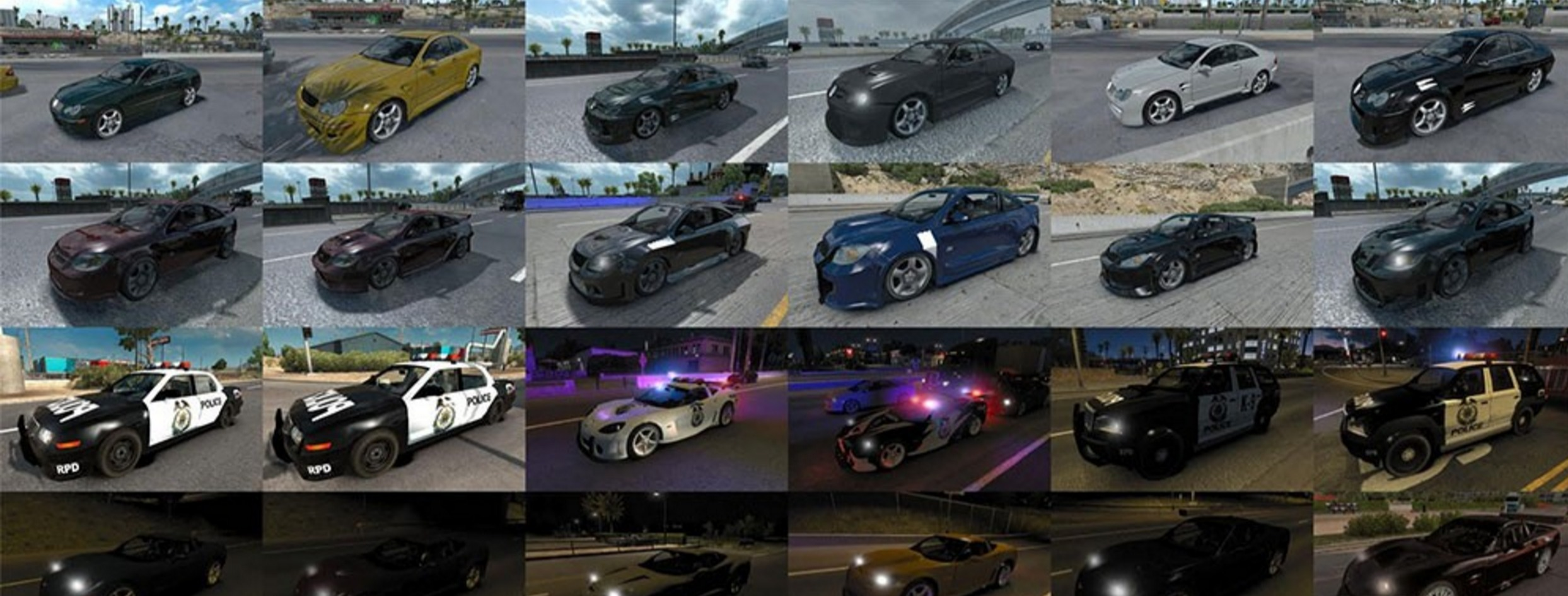 NFS Most Wanted traffic pack update 1104162
