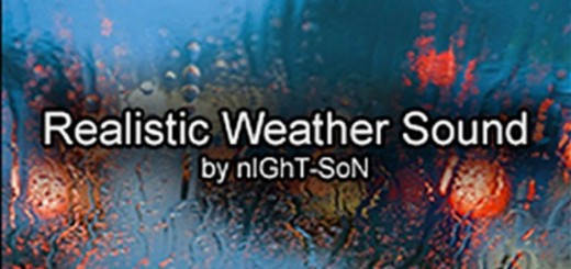 Realistic Weather Sound v 1.7.5 (by nIGhT-SoN)