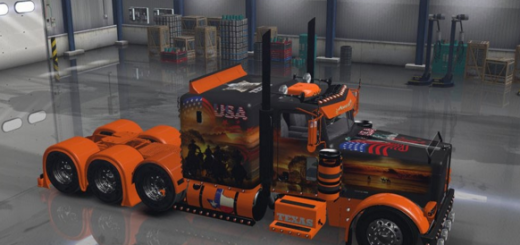 Skins american truck simulator ats mods for Howell s motor freight