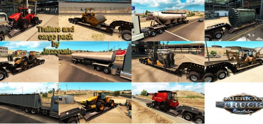 TRAILERS AND CARGO PACK BY JAZZYCAT V1.0 ATS