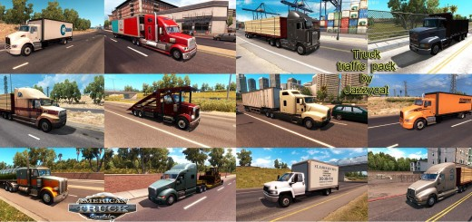 TRUCK TRAFFIC PACK BY JAZZYCAT V1.4 ATS  2