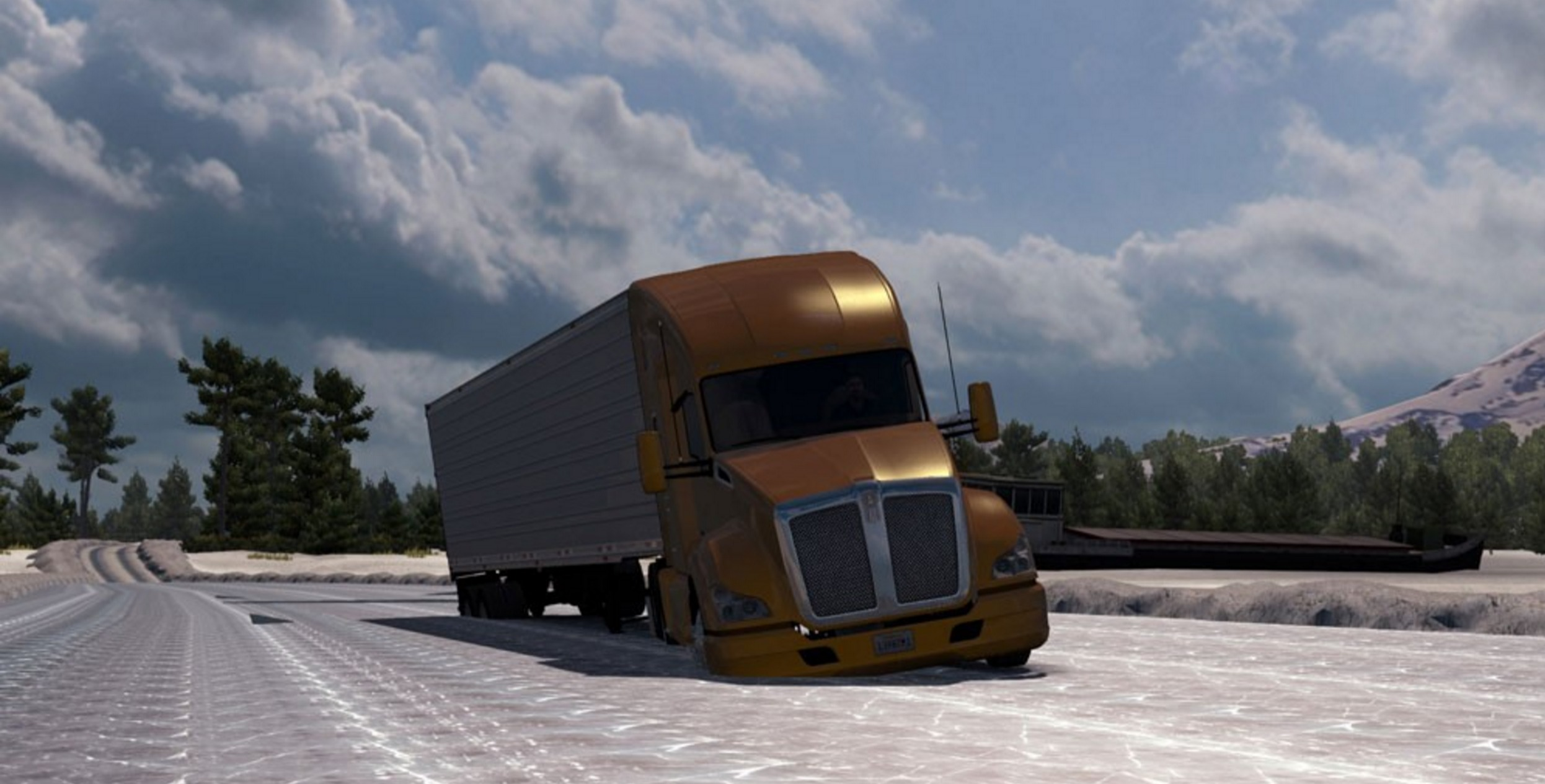 USA Offroad Alaska Map v 13 American Truck Simulator mod ATS mod
