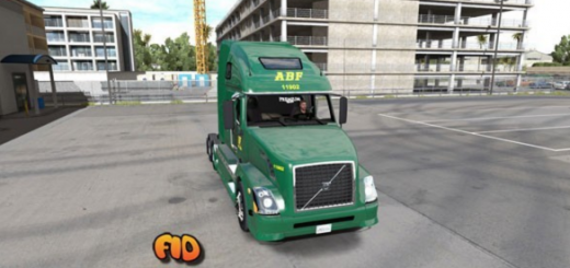 Volvo VNL 670 ABF Freight System, Inc (2)