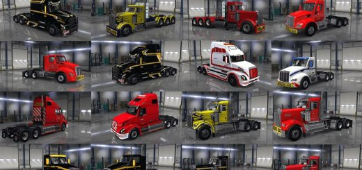 Heavy Haul truck-skin pack