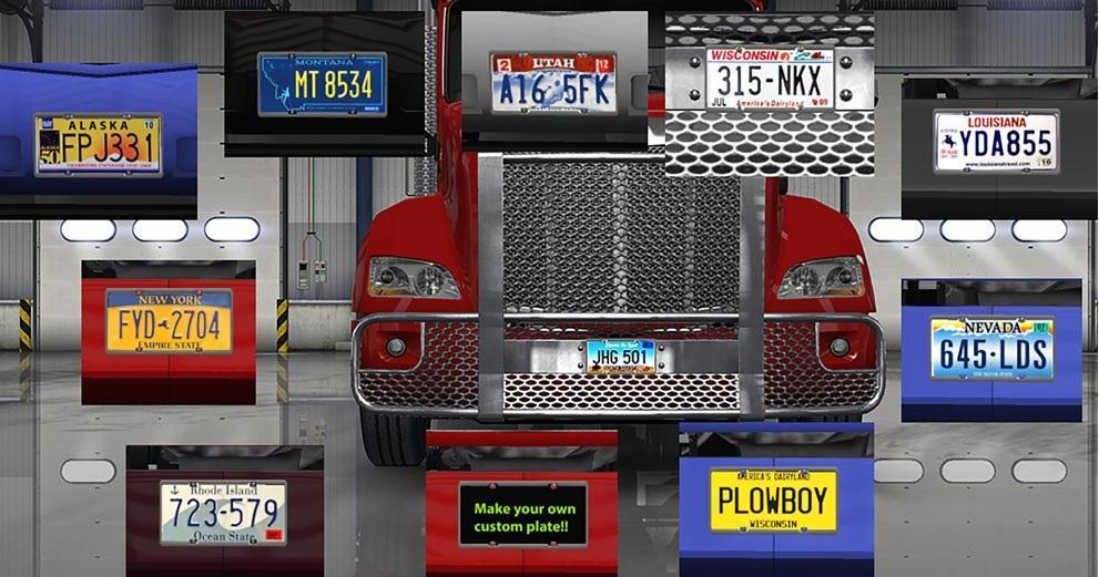 Alcoa Widebase And Michelin Xzy3 Mod For American Truck – Fondos de