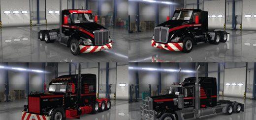 Mammoet USA skinpack for trucks