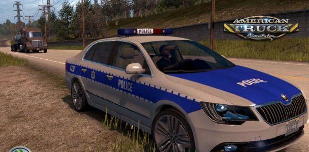 SH SKODA CAR (POLICE) (1)