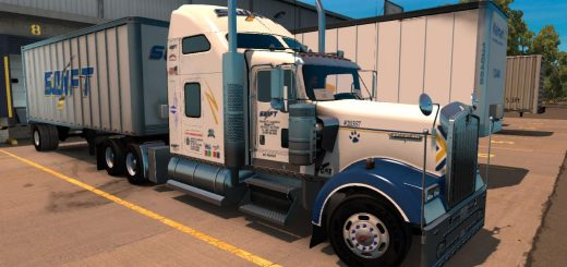 SWIFT TRANSPORTATION KENWORTH W900 SKIN [UPDATED]  (6)