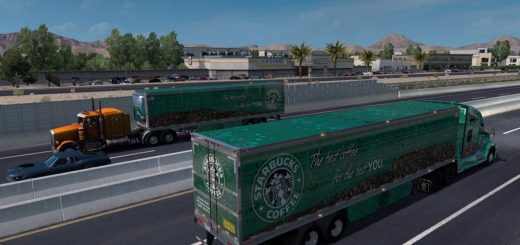Starbucks Reefer 3000R Trailer (2)