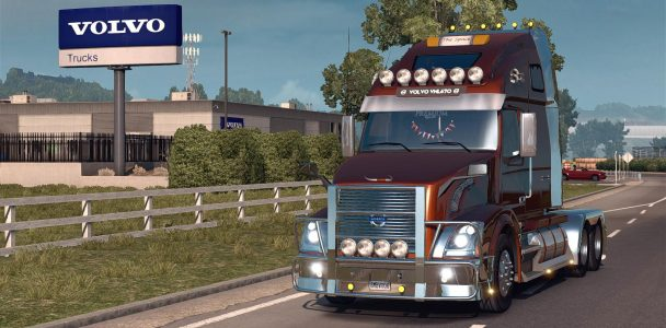 VOLVO VNL670 V1.4.2 (ONLY FOR ATS V1 (3)