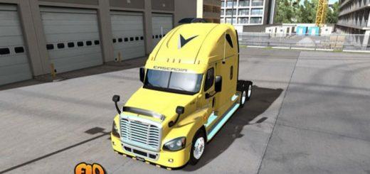 Veriha Trucking, Inc. – Freightliner Cascadia (3)