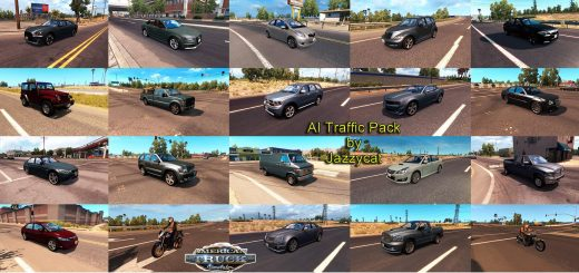 AI TRAFFIC PACK BY JAZZYCAT V1.5 (2)