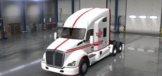 Kenworth T680 – Canadian Express White Version (2)