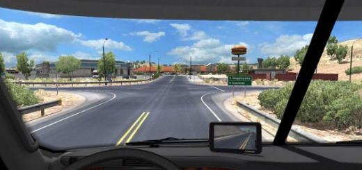 Left Mirror in GPS for Argosy Truck