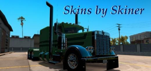 Peterbilt 389 A. J. Lopez Trucking Skin