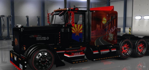 Peterbilt 389 Arizona USA (2)