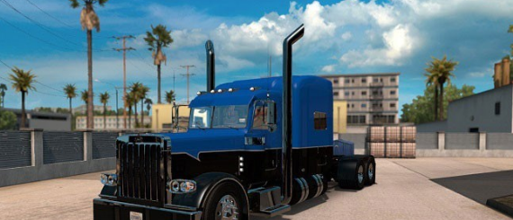 Peterbilt 389 Hot Road Rigs Skin update