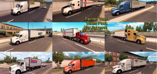 AI TRAFFIC - American Truck Simulator / ATS mods