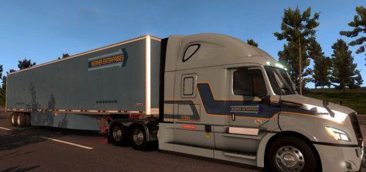 Werner-Skin-for-Freightliner-Cascadia-2018-ATS-1.6.x-mod